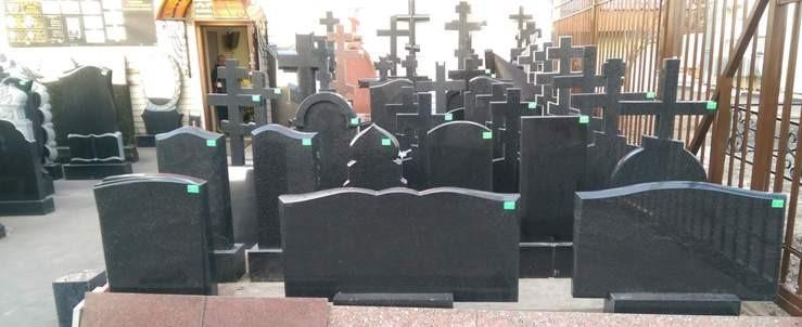 заказать памятник на могилу, выбор материала