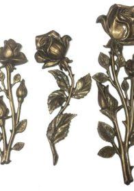 Розы бронзовые на памятники