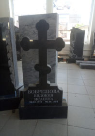 Памятник на могилу фото НР-49