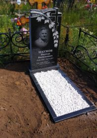 Памятник на могилу фото НР-38
