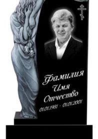 Фрезерованные гранитные памятники ФР-29
